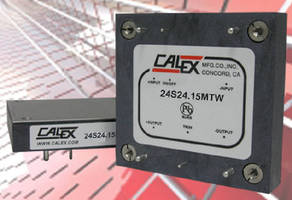 DC/DC Converters deliver 360 W of output power.