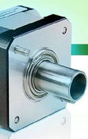 Stepper Motor delivers smooth motion and quiet operation.