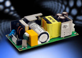 Medical Power Supplies operate with or without forced air.