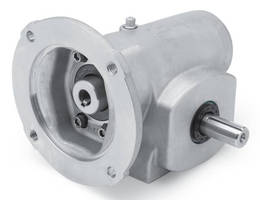 Stainless Steel Gear Reducers have washdown-resistant design.