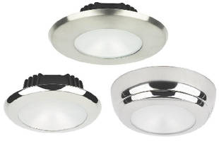 Dimmable LED Fixtures integrate with vessel control systems.