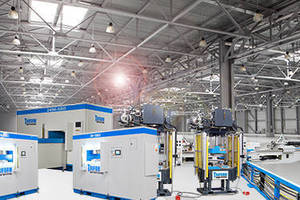 Beckwood Provides 7 Press Package with 3 Triforms to Leading Aerospace Manufacturer