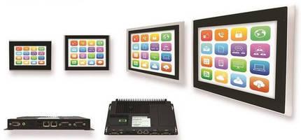 Smart Touchscreen HMI PCs simplify industrial machine control.