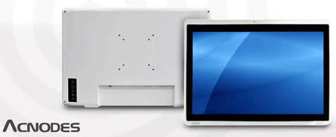 Rugged Multi-Touch Industrial Panel PC leverages 1.6 GHz CPU.
