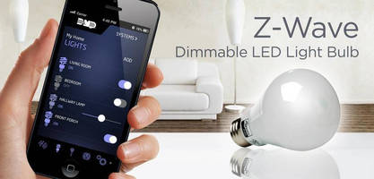 Dimmable LED Light Bulb simplifies Z-wave lighting control