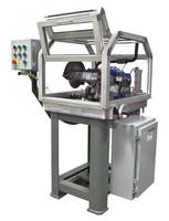 Semi-Automatic Cut-Off Machine handles carbide and steel rod.