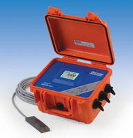Open Channel Area-Velocity Flowmeter has portable design.