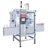 Shrink Sleeve Applicator processes 400 units per minute.
