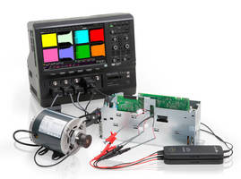 Motor Drive Analyzer leverages high-definition oscilloscope.