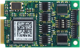 Mini PCIe Card withstands harsh and rugged environments. .
