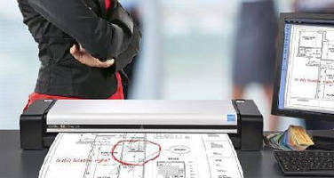 Large Format Scanner offers built-in cloud connectivity.