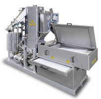 Underwater Pelletizers support automated fines removal.
