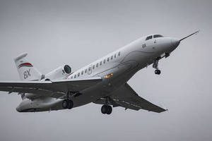Dassault Aviation's New Falcon 8X Takes to the Air