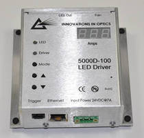Constant Current Dimmable LED Driver features Ethernet control.