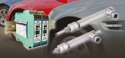 Macro Sensors LVDT Gage Heads Replace Failing Units on Automotive Parts Production Line