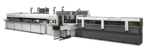 Laser Tube Cutting System handles diameters up to 8.625 in.