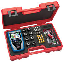 Multifunctional Cable Tester incorporates full-color display.