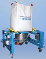 Portable Bulk Bag Discharging System is designed for talc.