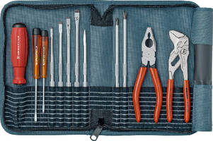 Tool Case Kits contain comprehensive blade assortment.