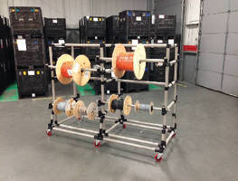 Creform Mobile Cart Serves as a Supermarket for Hydraulic Hose Reels