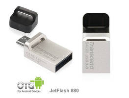 USB 3.0 Flash Drive provides on-the-go storage.