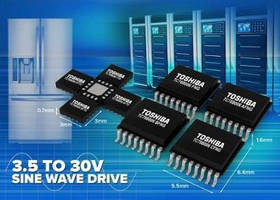 Motor Control Pre-Driver IC enables quiet low-power fan operation.