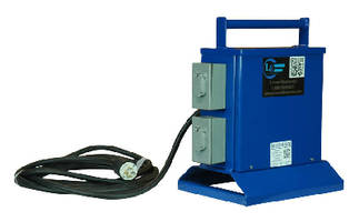 Portable Power Transformer suits low voltage lighting.