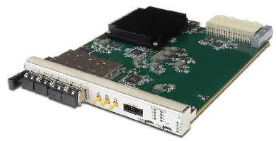Dual D/A Converter features high sampling rate.