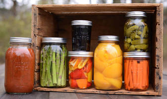 Jars and Lids suit small batch canning, storage applications.