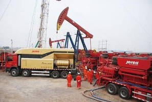 Jereh Apollo 4500 Turbine Frac Pumper Finishes Successful Field Operation in China
