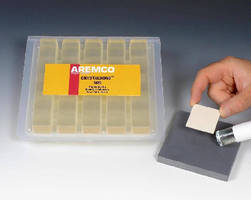 Thermoplastic Adhesive suits temporary mounting applications.
