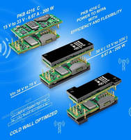 Eighth-Brick DC/DC Module offers adjustable 15-33 V output.