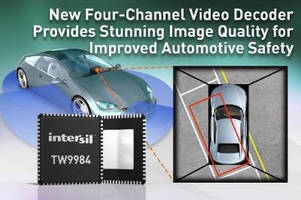 Analog Video Decoder/Encoder for ADAS improves automotive safety.