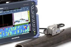 Dual Linear Array Probe provides corrosion imaging.
