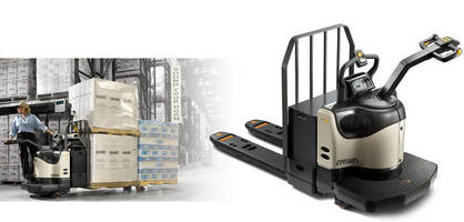 Rider Pallet Truck helps increase operator performance.