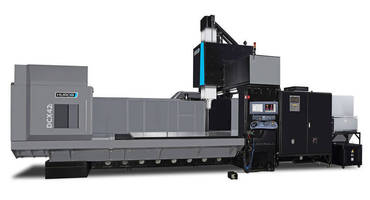 Machining Center offers 2.6 m Y-axis travel with no rigidity loss.