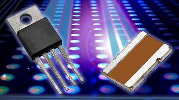 Current Sensing LED Resistors suit battery-powered applications.