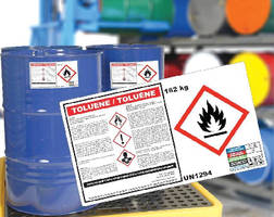 Durable Labels help users meet GHS requirements.