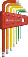 Hex Keys feature color-coded design.