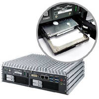 Fanless Embedded System suits in-vehicle applications.
