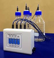 Sonic Sensor System measures HPLC reservoir levels.