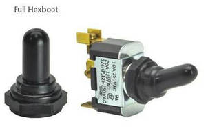 Toggle Switch Hexboot protects Against Elements.