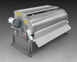 Rotary Drum Screen separates solids from waste streams.