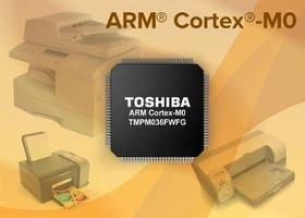 Microcontroller targets MFP devices.