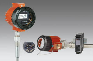 Smart HART Temperature Transmitters feature dual input.
