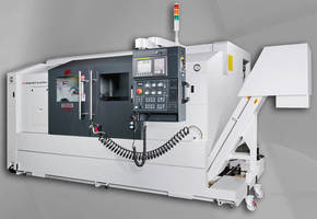 Milling Lathe/CNC Turning Center has true Y-axis and sub-spindle.