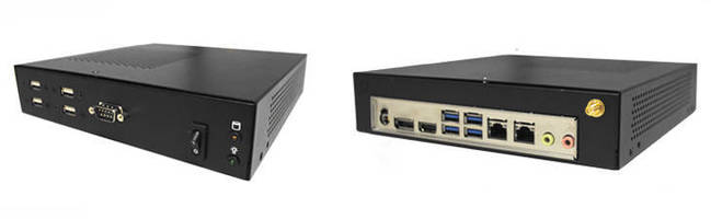 Low-Profile Mini-ITX System offers flexible functionality.