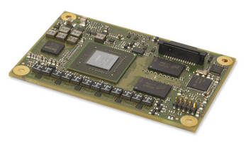 COM Express Module enhances power-/size-constrains with GPGPU.