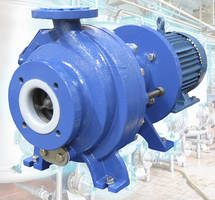Magnetically Driven Pump delivers leak-free operation.