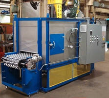 Slat Type Conveyor Oven for Drying Steel Parts